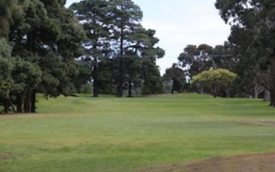 Queens Park Golf Club 17th Hole