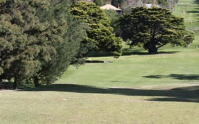 Queens Park Golf Club 18th Hole
