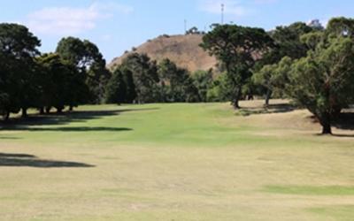 Queens Park Golf Club 2nd Hole
