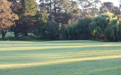 Queens Park Golf Club 4th Hole
