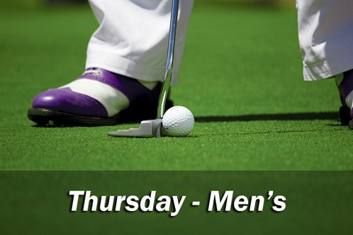 Thursday Men's Club Comp
