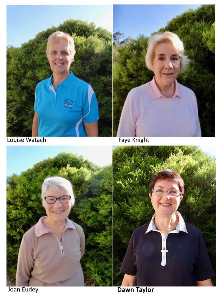 Congratulations – Ladies' Champions
