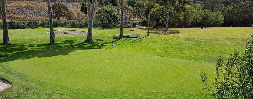Queens Park Golf Course View