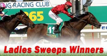 Ladies Sweeps Winners