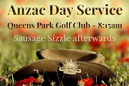 ANZAC DAY Club Comp - Thu (Men's)