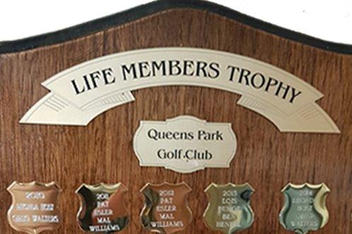 Life Members Trophy