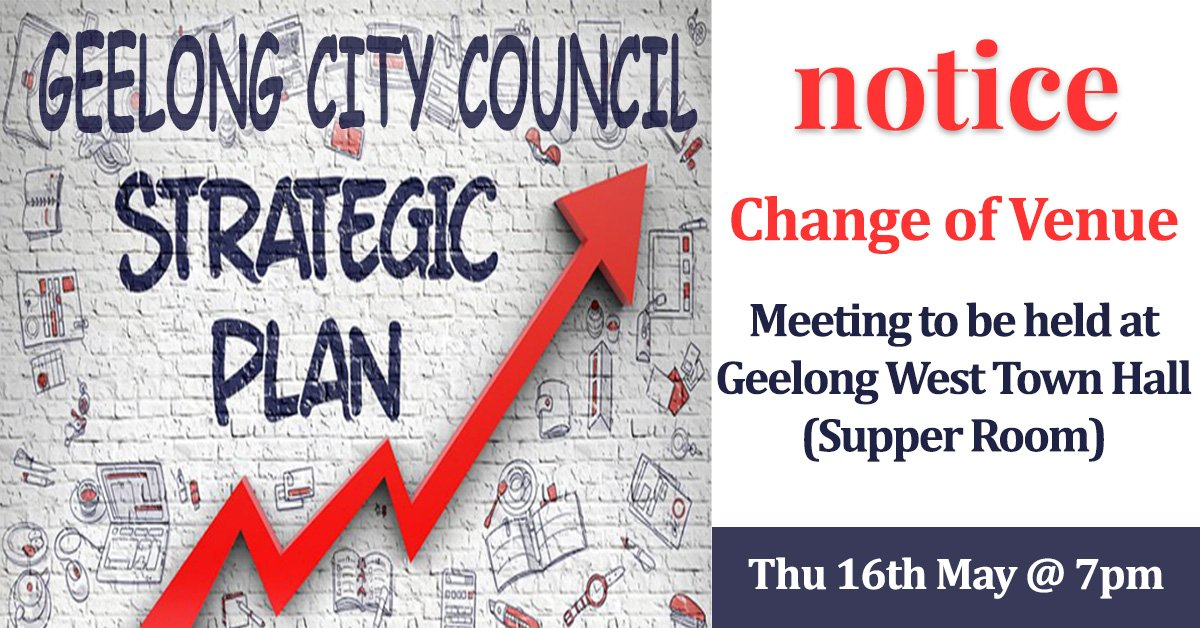 Meeting with Geelong City Council – Venue Change