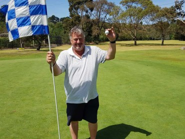 Congratulations Greg Walters on a Hole in One!