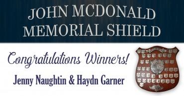 John McDonald Memorial Shield Winners 2019