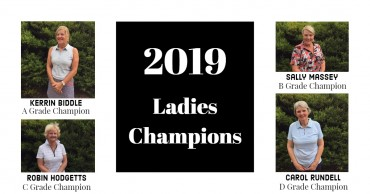Congratulations Ladies 2019 Champions!