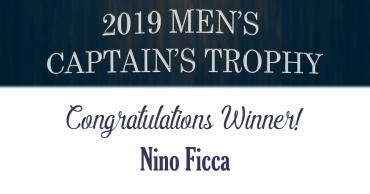 Congratulations Nino Ficca!