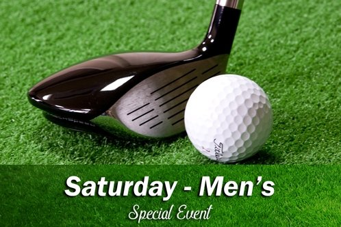 Club Comp - Sat (Men's) CANCELLED