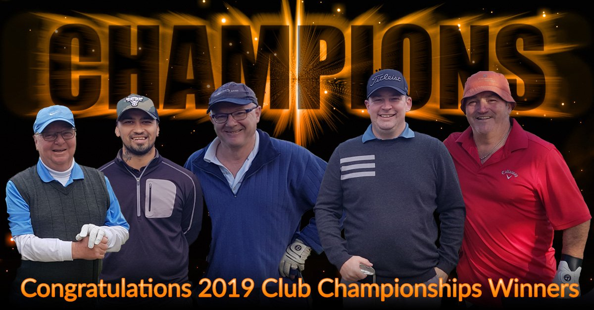 2019 Club Championship Results