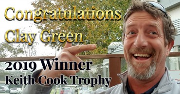 Congratulations Clay Green – 2019 Keith Cook Trophy Winner!