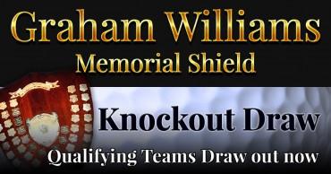 Graham Williams Memorial Shield Qualifying Draw 2019