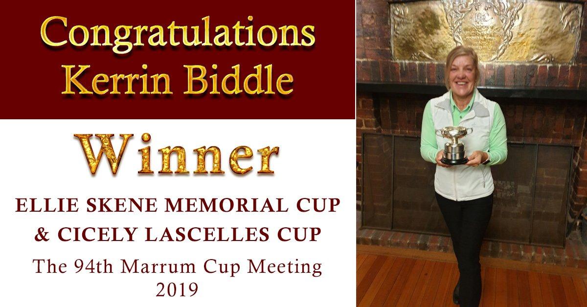 Congratulations Kerrin Biddle!