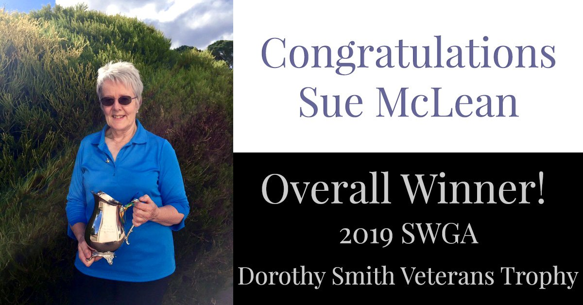 Congratulations Sue McLean