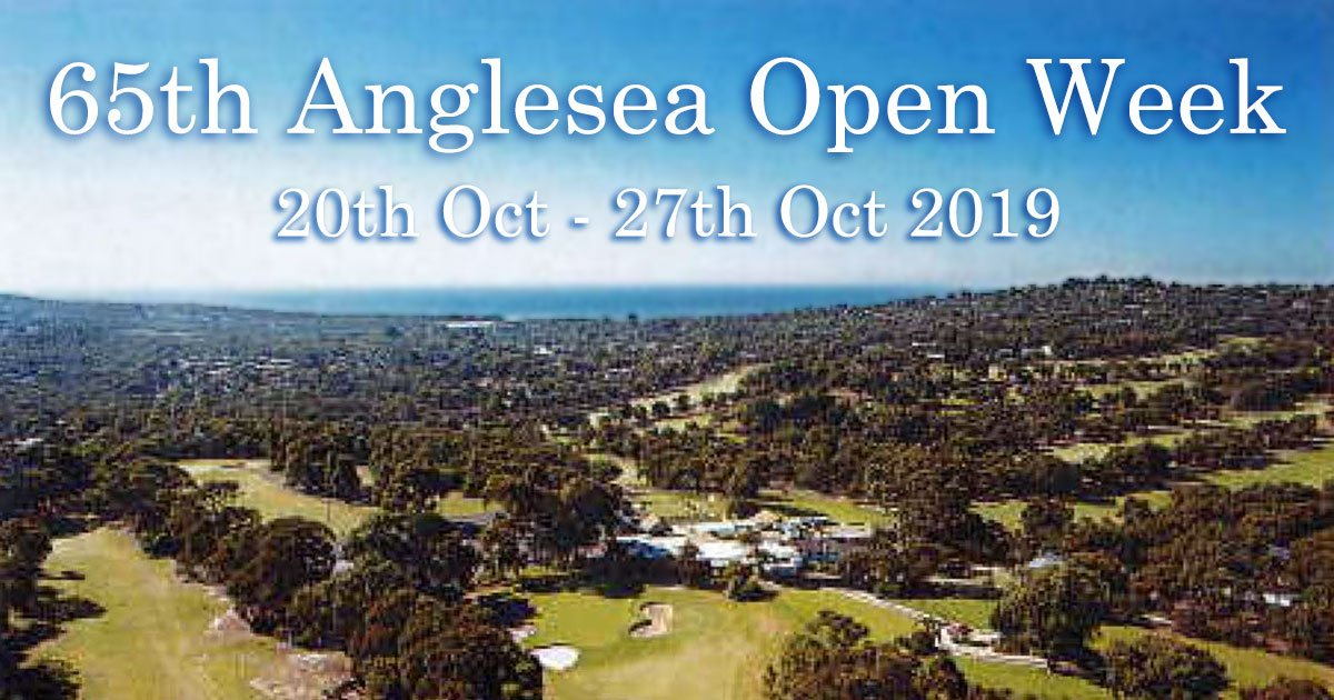 65th Anglesea Open Week 2019