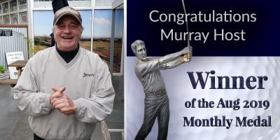 Congratulations Murray Host!