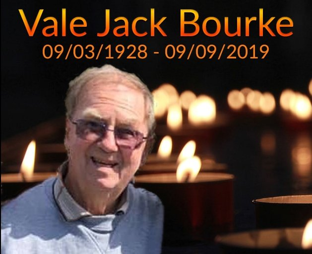 Service to Celebrate the Life of Jack Bourke