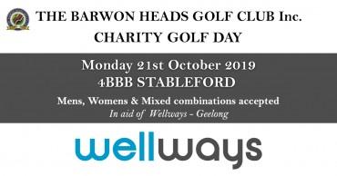 Barwon Heads Charity Golf Day 2019