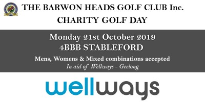 Barwon Heads Charity Golf Day 2019