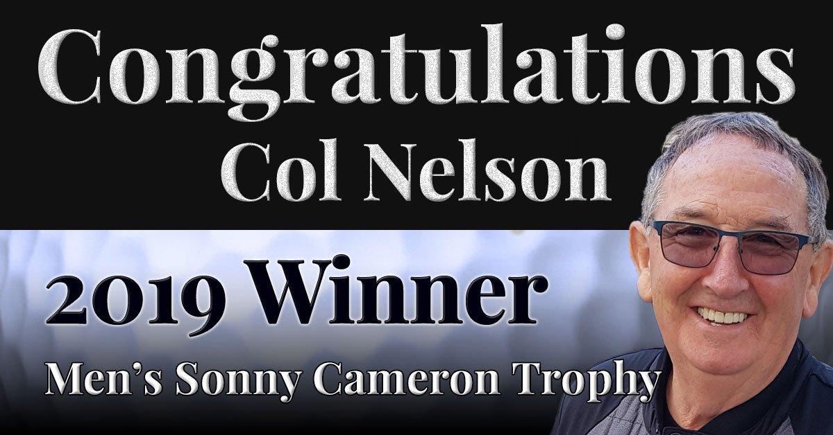 Congratulations Col Nelson!