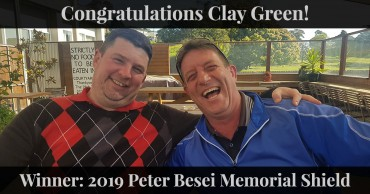 Congratulations Clay Green!