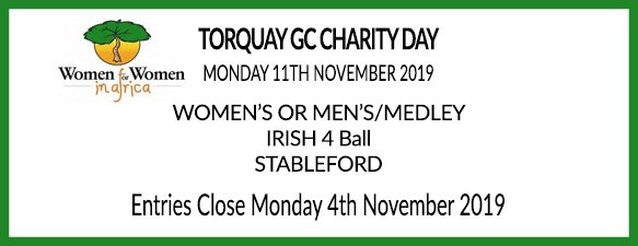 Torquay Golf Club Charity Day