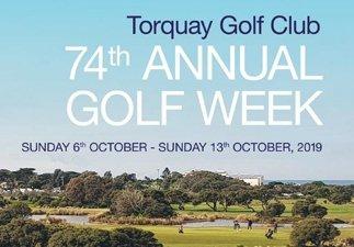 Torquay Golf Club Golf Week And Zeally Bay Cup