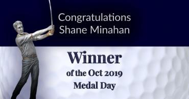Congratulations Shane Minahan – Another Win!