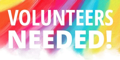 Volunteers Needed on Saturdays