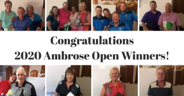 Congratulations 2020 Ambrose Open Winners!