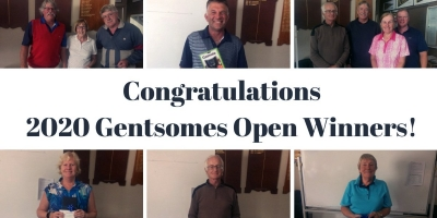 Congratulations 2020 Gentsomes Open Winners!