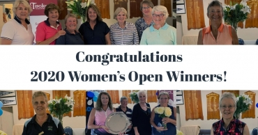 Congratulations Women's 2020 Open Winners!