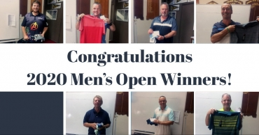 Congratulations Men's 2020 Open Winners!