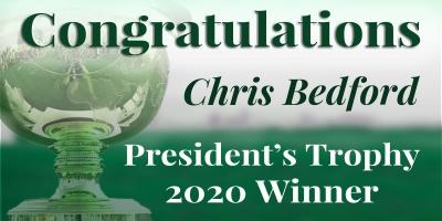 Congratulations Chris Bedford!