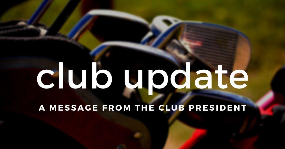 Club Update – 03/04/20