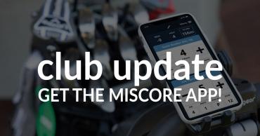 Club Update – Get The MiScore App!