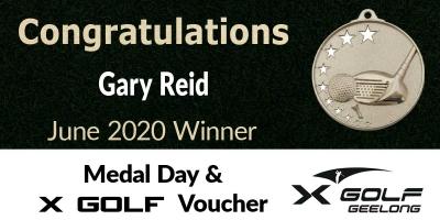 Congratulations Gary Reid!