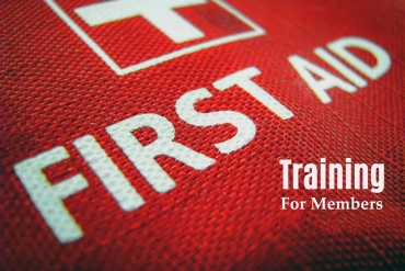 First Aid Training for Members