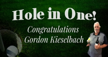 Congratulations Gordon Kieselbach!