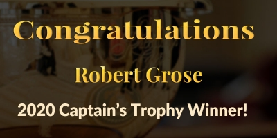 Congratulations Robert Grose!