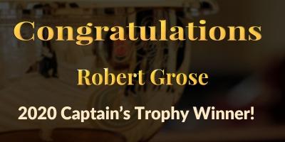 Congratulations Robert Grose!