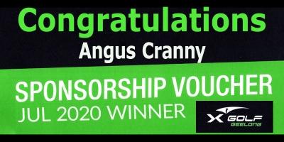 Congratulations Angus Cranny!