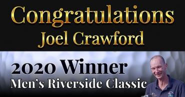 Congratulations Joel Crawford!