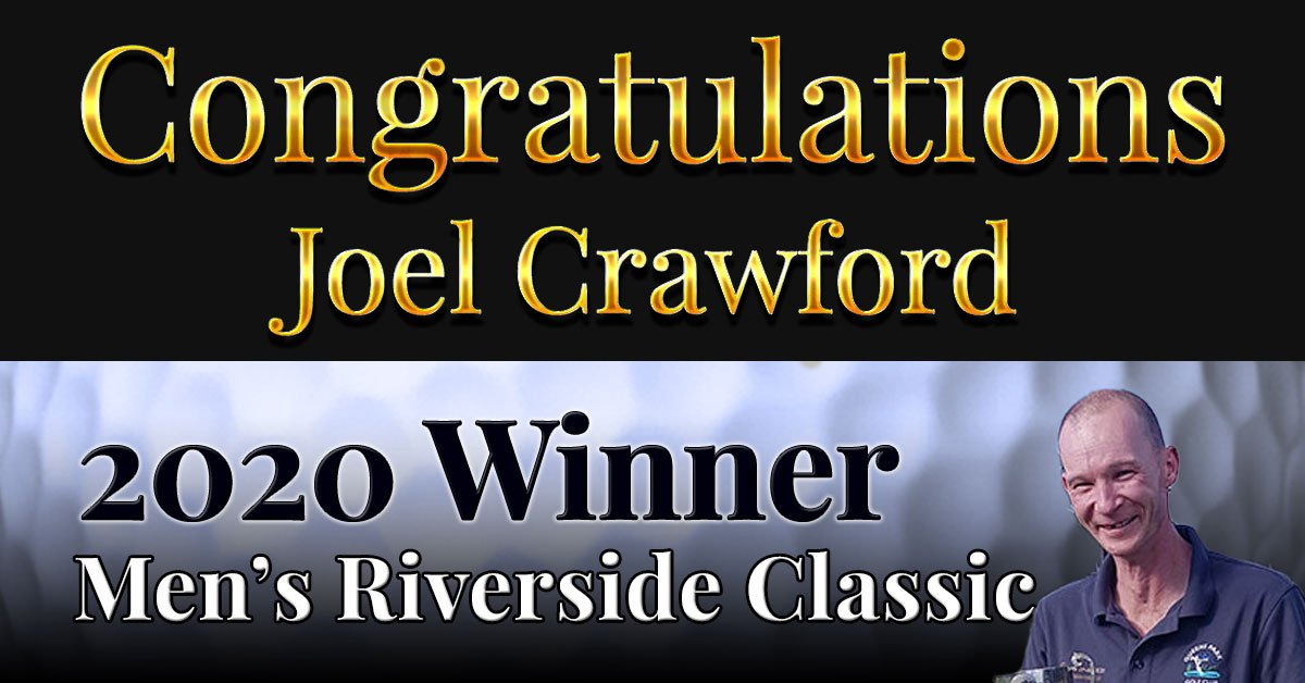 Congratulations Joel Crawford!