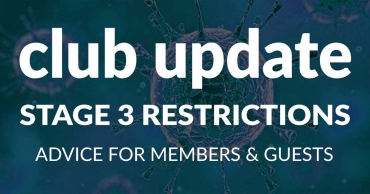 Club Update – Advice for Members & Guests