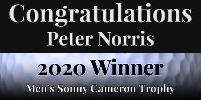 Congratulations Peter Norris!