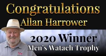 Congratulations Allan Harrower – 2020 Watach Trophy Winner